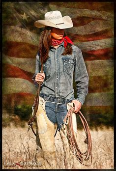 ♥ Cowgirl Photo by Lisa K. Stokes
