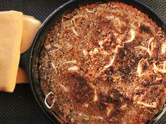 Easy Skillet Cassoulet | Made this but substituted Duck for the pork tenderloin and used crushed Pork Rinds for the topping instead of bread crumbs!  Yummmm!!!