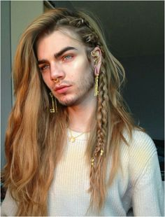 long hair models - cool hairstyle for Ichigo . it's also the right color BONUS! # long hair me Boys Long Hairstyles, Haircuts For Long Hair, Haircuts For Men, Cute Hairstyles, Vampire Hairstyles, Mens Wedding Hairstyles, Hairstyles Pictures, Style Hairstyle, Party Hairstyles