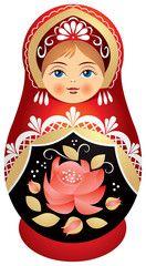 Matryoshka doll in Kokoshnik