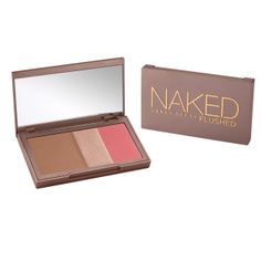 Bronze, glow, and blush - all with one pretty perfect Urban Decay palette
