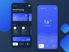 banking app Smart Home App by Vincent Wendy on Dribbble Web Design, App Ui Design, Interface Design, Dashboard Design, Flat Design, Graphic Design, App Background, App Design Inspiration, Design Ideas