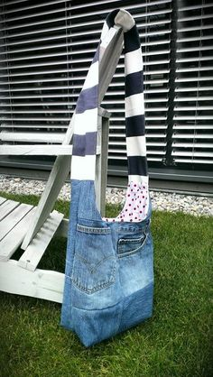 LOVE THIS UPCYCLED LEVIS 501