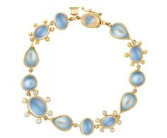 Royal Blue Moonstone bracelet { Island Dreams } FamilyFreshCooking.com color board