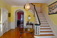 Historic Canner Mansion c.1920 - Entry Foyer