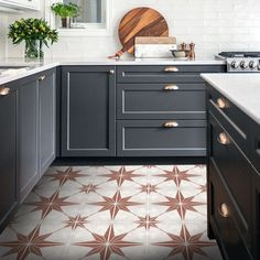 Astra in Tierra Red Vinyl Tile Sticker Pack – Tile Decals – Floor Stickers - kidrish. Red Floor, Floor Stickers, Tile Decals, White Tiles, Floor Design, Rustic Interiors, Vinyl Flooring, Flooring Ideas, Houses