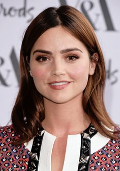 Jenna Coleman arriving for the V&A Summer Party at the Victoria and Albert Museum in London, England Victoria Series, Rule Britannia, Clara Oswald, Natural Teeth Whitening, June 22, Jenna Coleman, British Actresses, Victoria And Albert Museum, Salma Hayek