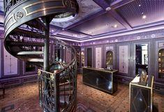 #Purple #Lavender #Violet. Shiseido Salons du Palais Royal by Serge Lutens, Paris