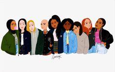 SISTERHOOD  #sanaak #feminsim #girlgang