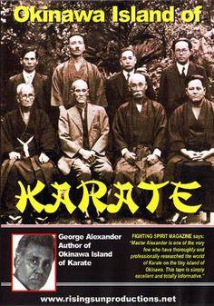 Okinawan Island Of Karate Masters DVD George Alexander Shotokan Karate Kata, Personal Biography, Romantic Comedy Movies, Martial Arts Movies, Adventure Movies, Fantasy Movies, Film Quotes, Independent Films, Documentary Film