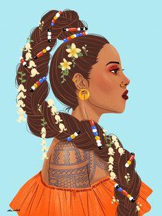 I want to create more Filipino art in 2019 🇵🇭 . Philippine Mythology, Philippine Art, Filipino Tribal Tattoos, Tribal Tattoos For Women, Filipino Art, Filipino Culture, Girl Cartoon, Cartoon Art, Art Sketches