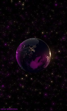 Wallpaper Huawei - Beauty Is Worth A Gif- Planets Wallpaper, Cute Wallpaper Backgrounds, Galaxy Wallpaper, Cute Wallpapers, Art Galaxie, Gif Background, Space And Astronomy, Illusion Art, Beautiful Moon