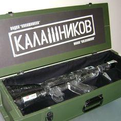 AK 47 VODKA BOTTLE