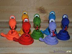 serpenti crochet on pinterest - Cerca con Google