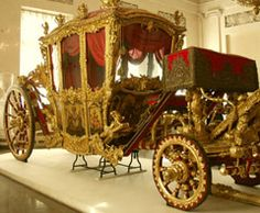 Glories of the Hermitage - Czars' carriage at the Hermitage