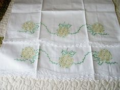 This is an interesting and nice stitch pattern: the Chevron Retro Stitch Wave Crochet pattern which I'm sure you guys would like to know how it is done. This lace chevron stitch is easy to make and is perfect for shawls and blankets. Love Crochet, Vintage Crochet, Hand Crochet, Embroidery Transfers, Embroidery Stitches, Embroidery Designs, Vintage Pillow Cases, Vintage Pillows, Stitch Patterns