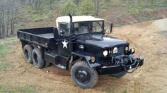 1967 Kaiser Jeep M35A2 deuce and a half 2.5 ton with winch multi fuel c turbo