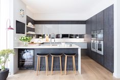 Modern New Home by Black & Milk