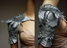 silver beadwork. | 12 Highly Compelling Reasons Armor Needs A Fashion Comeback