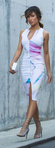 Lithium Midi Dress Styling