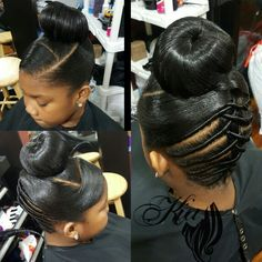 little-girl-hairstyles - Fab New Hairstyle 1 Black Hair Updo Hairstyles, Lil Girl Hairstyles, Kids Braided Hairstyles, Creative Hairstyles, Beautiful Hairstyles, Natural Hair Updo, Natural Hair Styles, Ponytail Styles, Curly Hair Styles