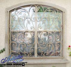 modern window bars home window iron grill designs ideas. Black Bedroom Furniture Sets. Home Design Ideas