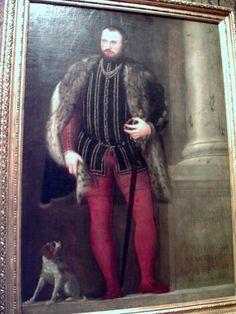Paolo Veronese, Portrait of Francesco Franceschini, 1551 | Flickr - Photo Sharing!