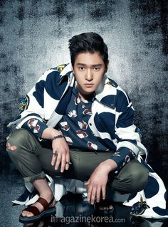 Go Kyung Pyo - Harper's Bazaar Magazine June Issue '15