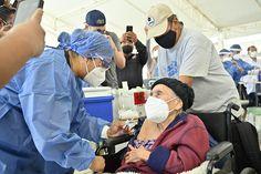 En la Ciudad de Oaxaca, adultos mayores comienzan a recibir la primera dosis de la vacuna contra el COVID-19 Wuhan, Bucket Hat, World Government, Old Age, Continents, Tourism, Cities, Bob, Panama