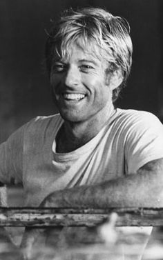 robert redford.  what a smile!