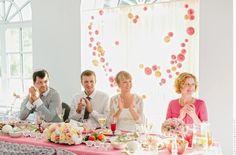 Свадьба в розовых тонах в павильоне | 39 фотографий