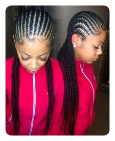 African Hair Braiding : STYLECASTER Protective Hairstyles to Try Straight Back Cornrows Click image for more. Box Braids Hairstyles, Protective Hairstyles, African Hairstyles, Girl Hairstyles, Protective Styles, Medium Hairstyles, Black Hairstyles, Long Haircuts, Hairstyles 2016