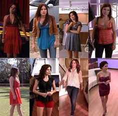 Brooke's outfits through the seasons