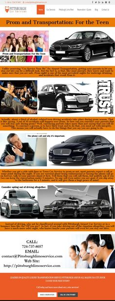 Prom and Transportation: For the Teen Infographic