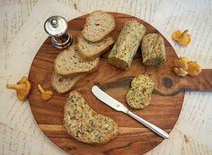 Butter, Bamboo Cutting Board, Keto, Food, Pickling, Sandwich Spread, Mushrooms, Crickets, Essen
