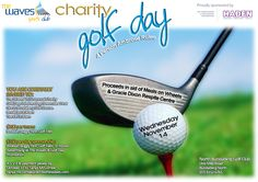 Charity Golf Day Invitation. Would you like a design like this for your business? Email: art3sian@gmail.com