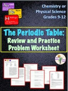 Fun elemental mystery activity element periodic table atom jr high periodic table review urtaz Images