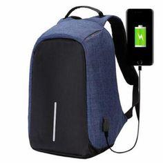 High Quality Men Backpacks Oxford Anti Theft Backpack Women Bag USB Charge Laptop Mochila Waterproof Travel SAC Back Pack Computer Backpack, Men's Backpack, Fashion Backpack, Waterproof Laptop Backpack, Laptop Bag, Fashion Bags, Mens Fashion, Anti Theft Backpack, Backpack Pattern