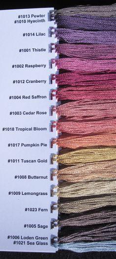 Photo of Treenway Silk 17 Natural Dye Colors