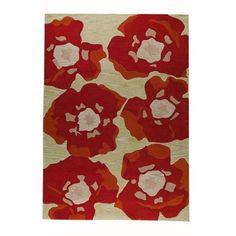 Hokku Designs Poppy Orange Rug