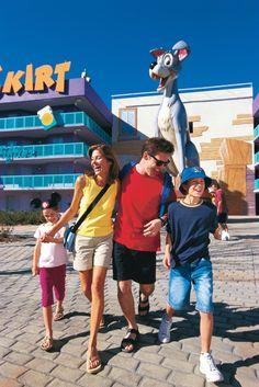 Disney Resort Hotels, Disney's Pop Century Resort - Guests, Walt Disney World Resort