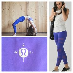 Lululemon highest times pant New with tags, highest times pant from Wanderlust. 7/8 length. Color: Iris Flower. Mesh panels on the front for ventilation. Submit REASONABLE offers if interested, please no lowball offers. These sell for $250+ on other sites. No holds and no TRADES lululemon athletica Pants Leggings