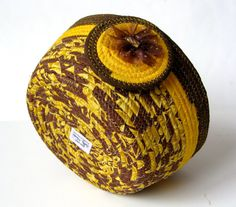 Tendedero cuerda cesta mano en espiral Xtra grande por SallyManke