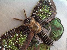 Вышиваем бисером элегантную бабочку. Часть вторая - Ярмарка Мастеров - ручная работа, handmade