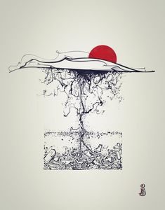 Root Illustration by RemiisMeltingDots.deviantart.com on @DeviantArt