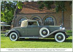 ♛1930 Cadillac Fleetwood V16 Model 4235 Convertible♛