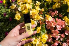 Excited for the solstice tomorrow! Ready to step into the season with our favorite bright hues. But for now celebrating last day of with Charme. Yellow Nail Polish, Yellow Nails, Summer Solstice, Lemon Lime, Bright, Spring, Green, Glamour, Yellow Toe Nails