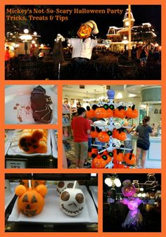 Special Treats are available during Mickey's Not So Scary Halloween Party! Photo Courtesy of DIaney Watkins and Teronya Holmes
