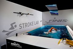 The FINIS Stroke Lab will use an Endless Pool Elite for product testing, swim training, photo shoots and more!