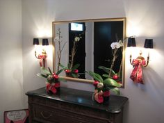 Interior Holiday deisgns by Nature of Design with Janet Flowers